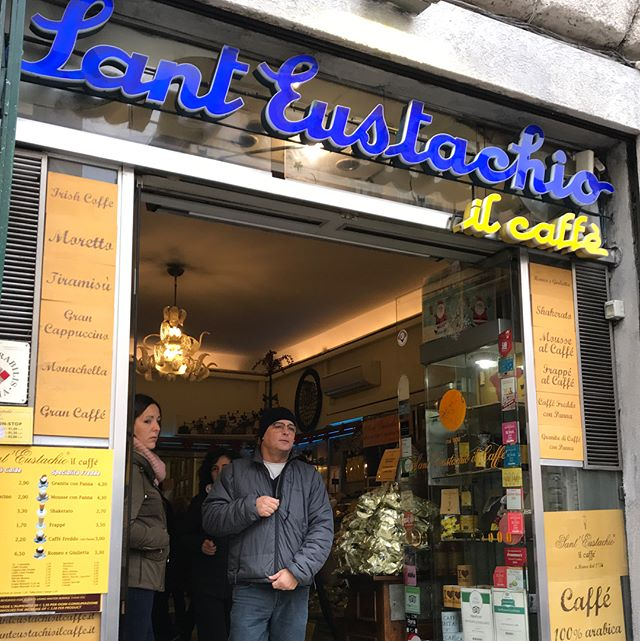 On our travels in Rome discovering one of the last few traditional wood powered coffee roasters still going in Italy. #woodroasted #inrome #coffee #onourtravels