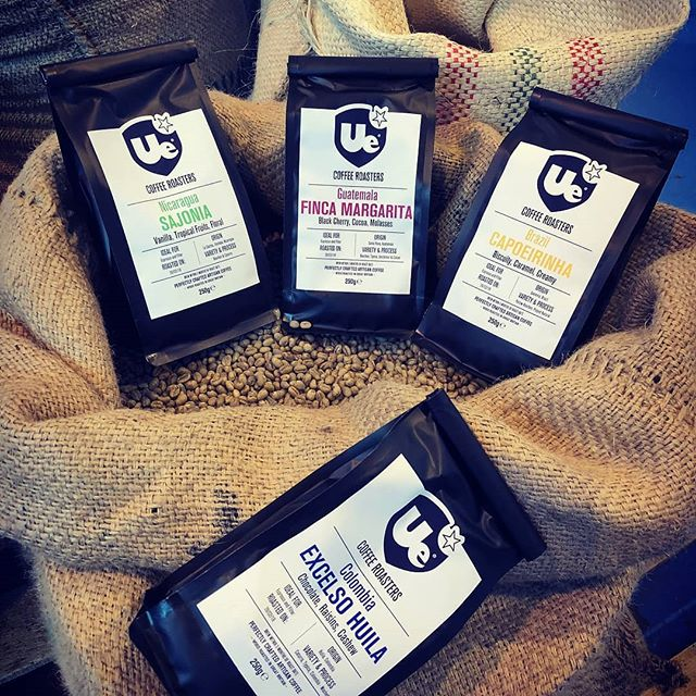 Here at Ue we are aiming this year to reduce our carbon foot print by up to 30% by the end of the year and we have started doing this by modifying our retail coffee packaging. #uecoffeeroasters #uecoffee #trueartisancafe #savetheplanet #reduceyourcarbonfootprint #eco