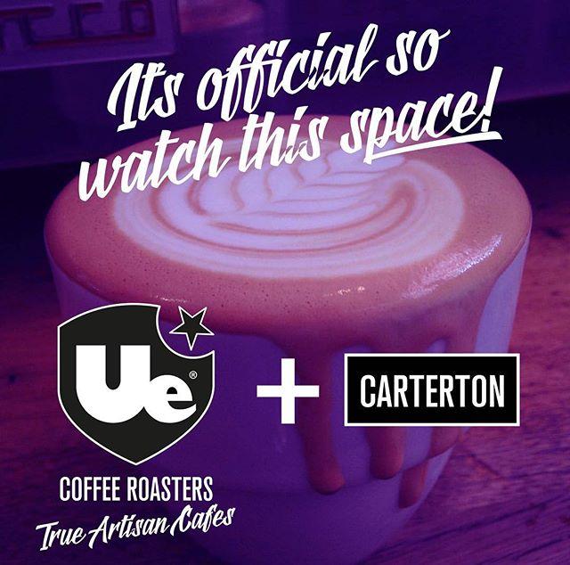 #uecoffeeroasters #bestcoffeeintown #carterton #openingsoon #coffeeshop #artisan #trueartisans #lamarzocco #coffee