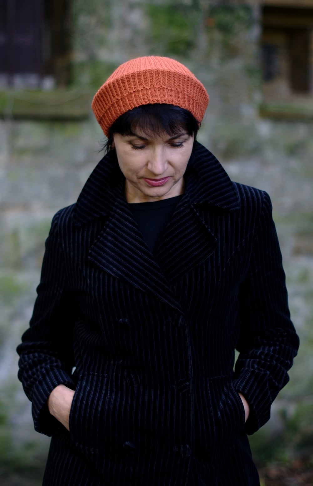 Concentricity tam knitting pattern