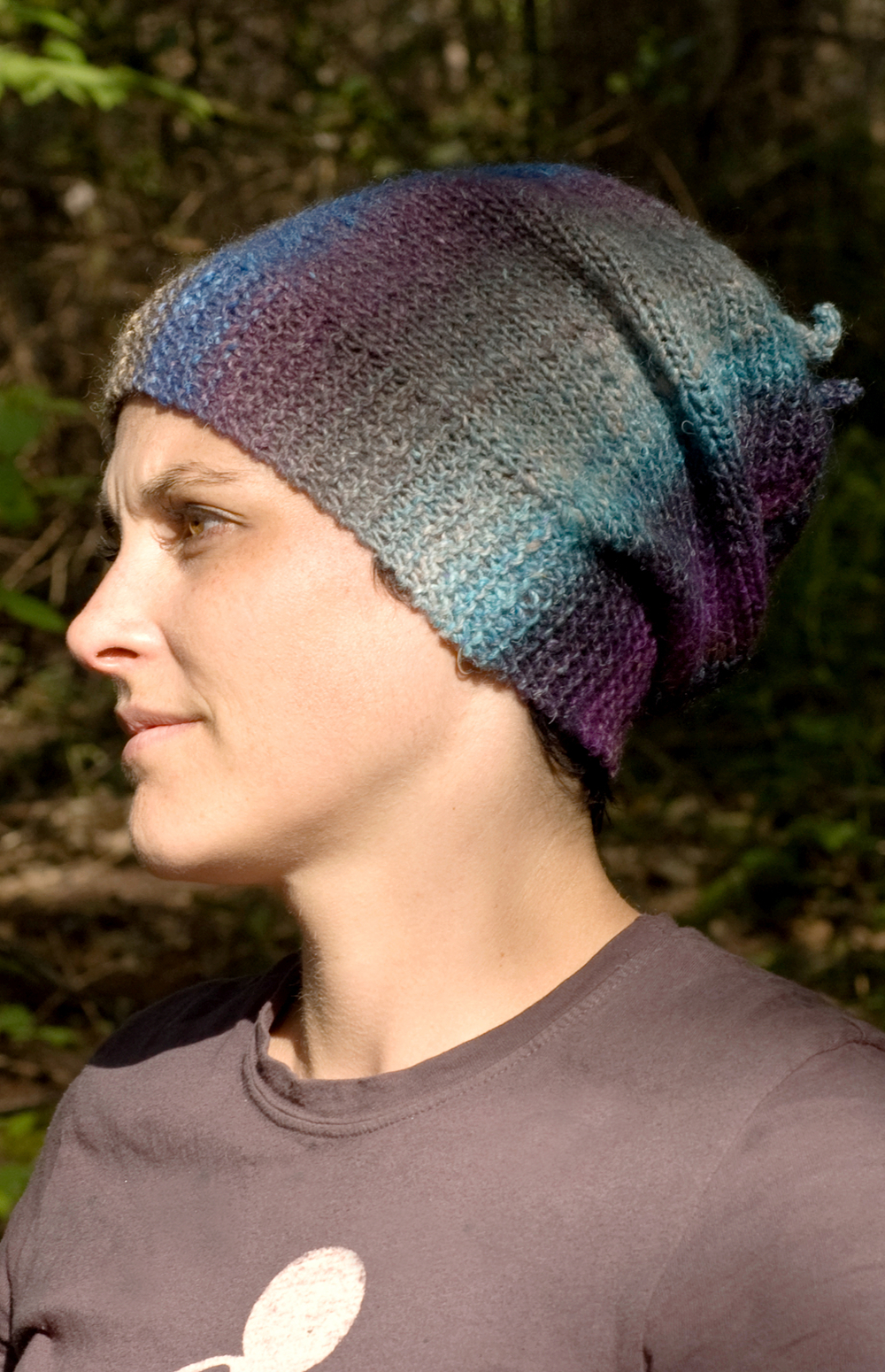 Abalone slouchy Hat pattern