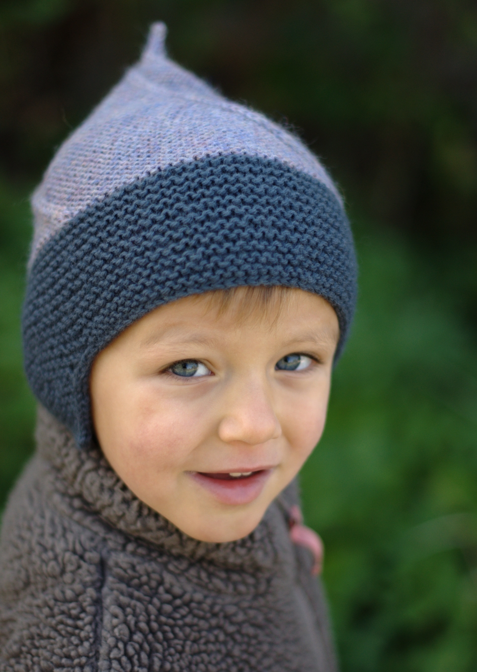 Álfur chullo pixie Hat pattern
