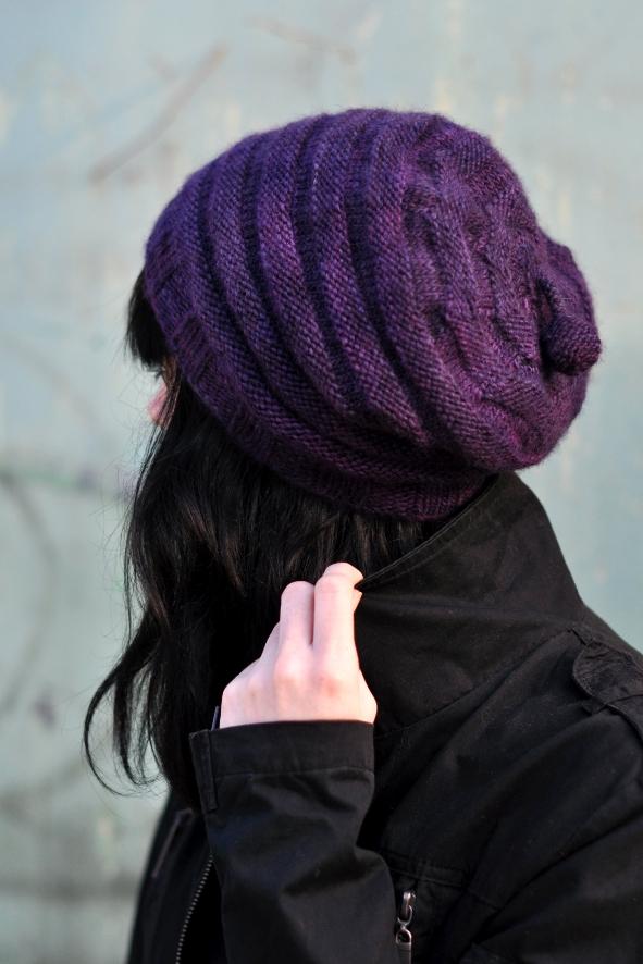 Alveare slouchy Hat pattern