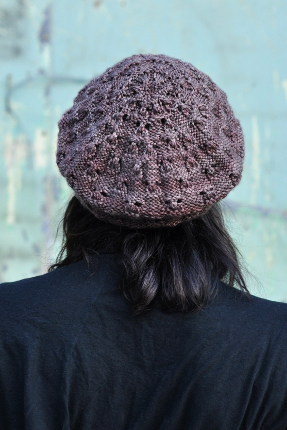 Banksia beret knitting pattern