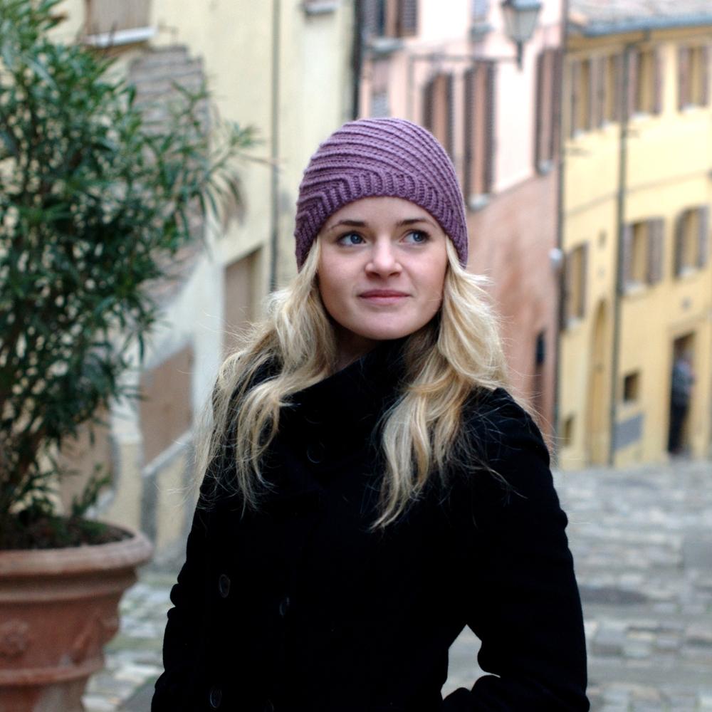 Basel Hat knitting pattern