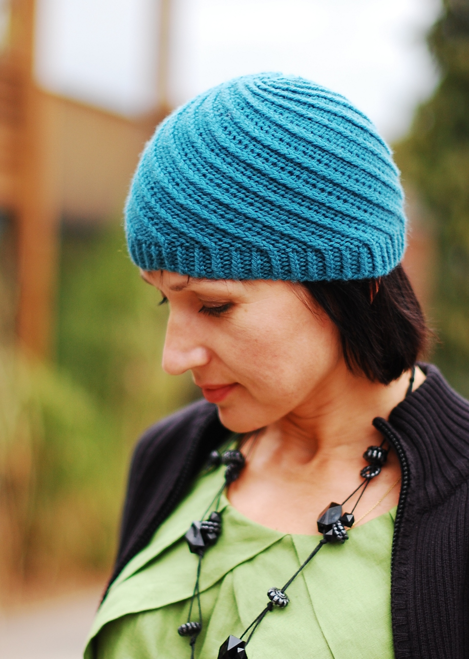 Knitting Pattern Wooly Hat : Basel Hat knitting pattern for worsted   Woolly Wormhead