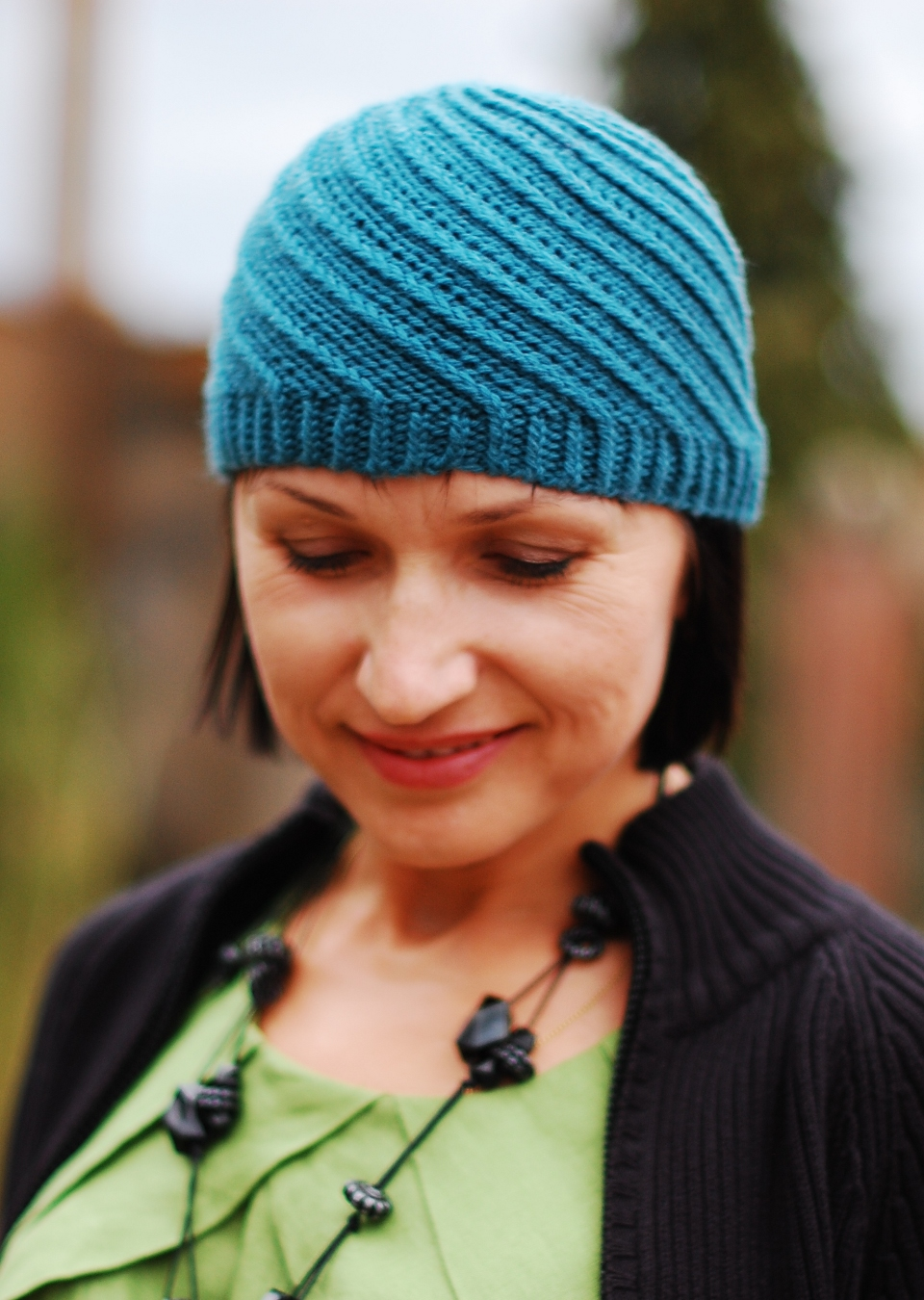 Basel Hat knitting pattern