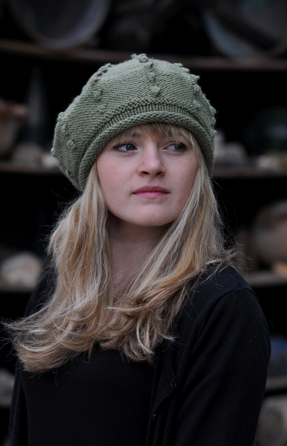 Bobble Beret knitting pattern
