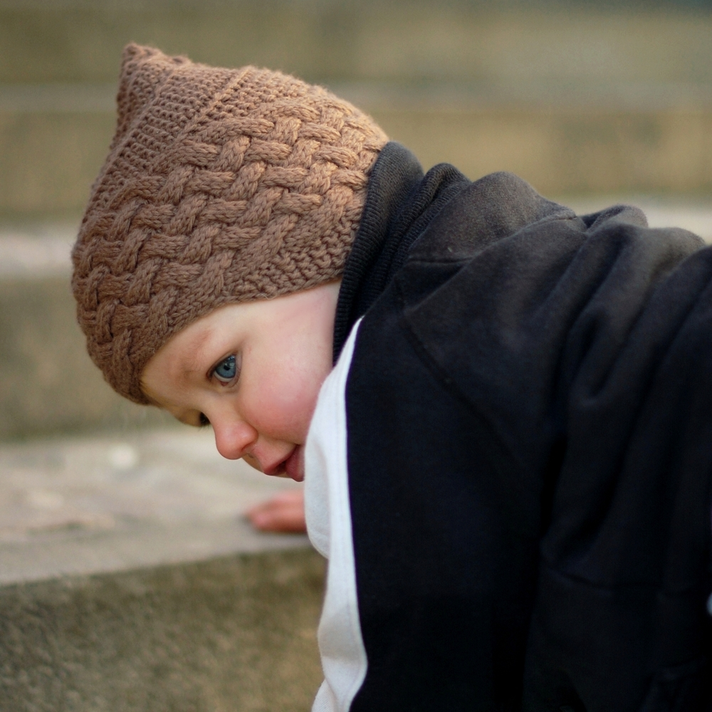 Brownie pixie chullo Hat knitting pattern