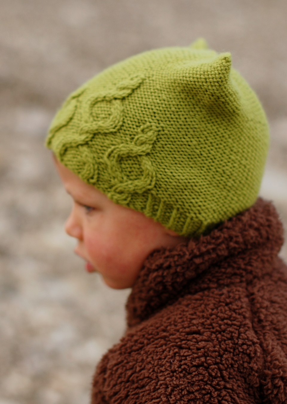 Bubbles Hat knitting pattern