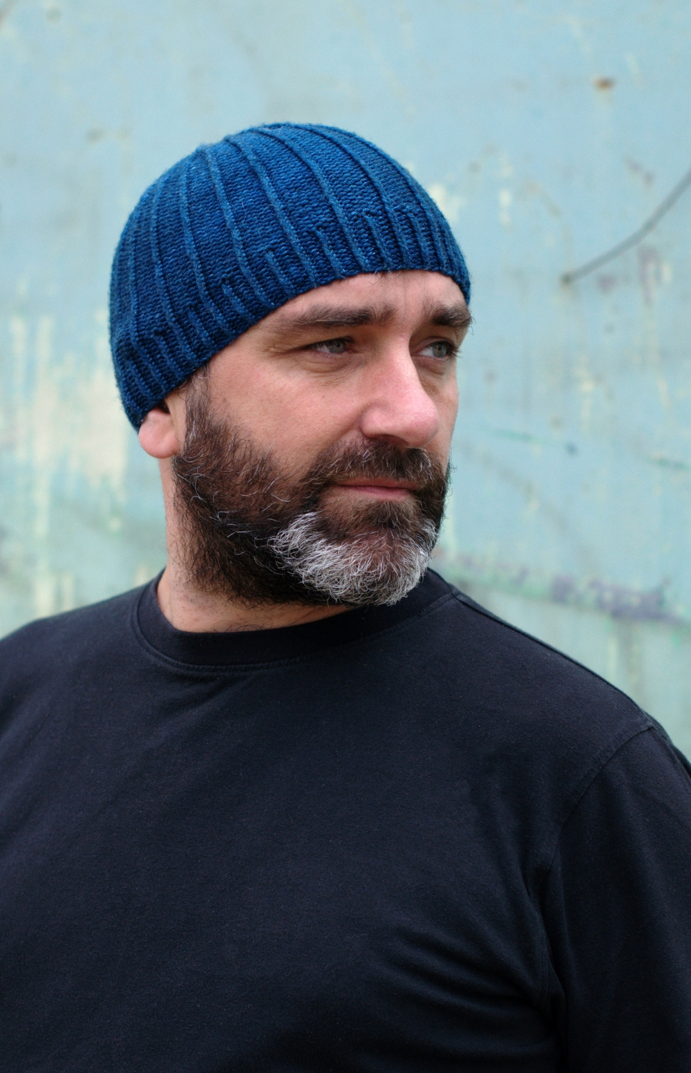 Darkke beanie knitting pattern