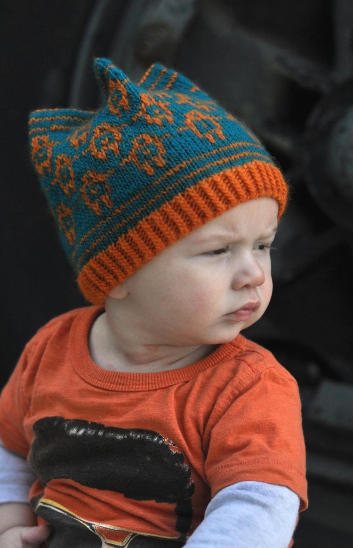 Golem fairisle Hat knitting pattern — Woolly Wormhead