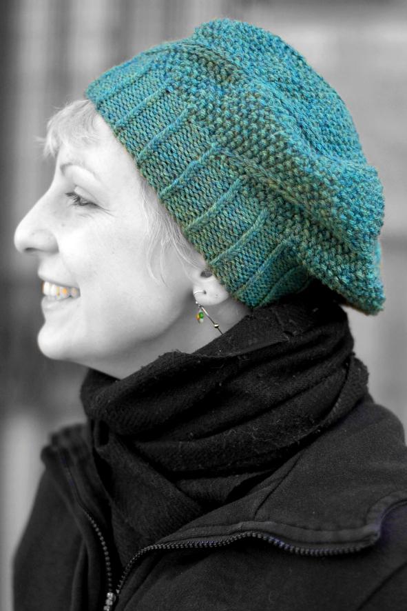 Limerick spiral beret knitting pattern