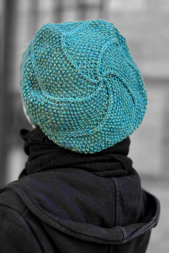 Limerick spiral beret knitting pattern — Woolly Wormhead