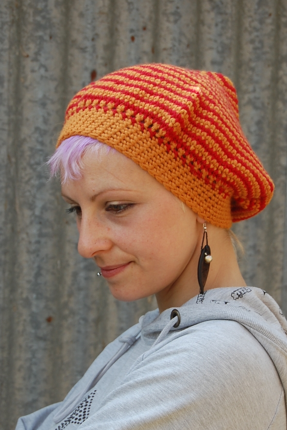 Mushroom Cap pixie Hat crochet pattern