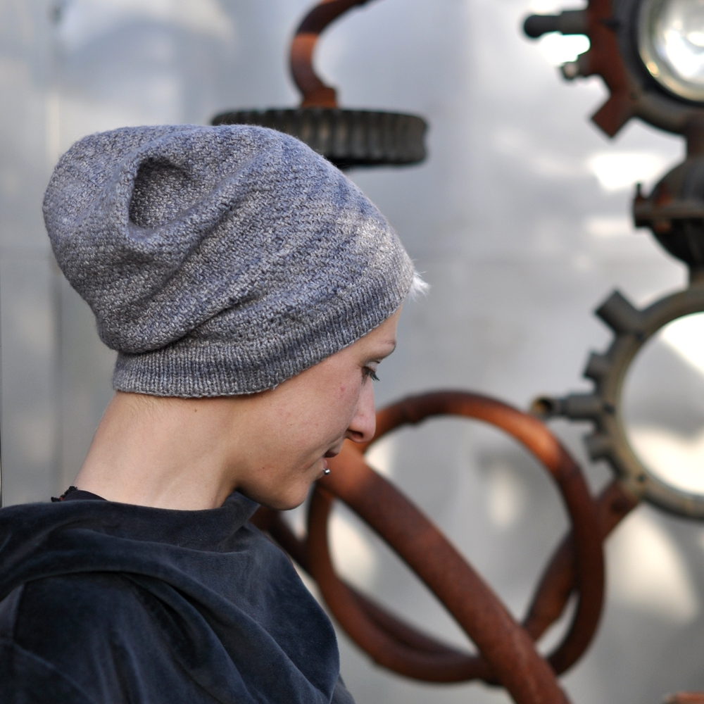 North Lyme slouchy Hat knitting pattern