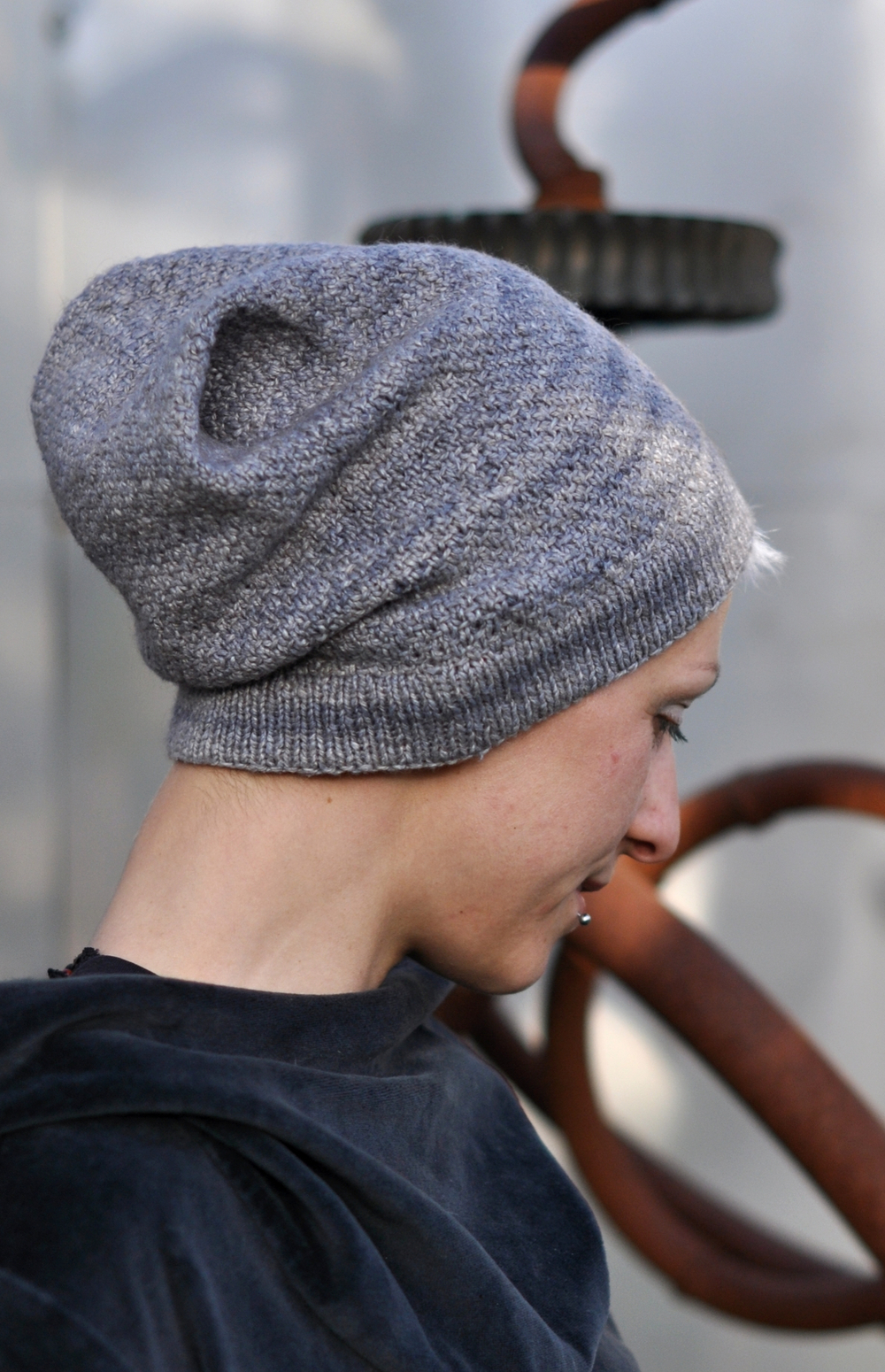 North Lyme slouchy Hat pattern