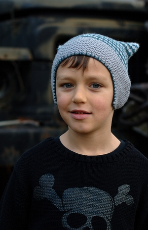 Pinion Skater Style Chullo Hat Knitting Pattern Woolly Wormhead