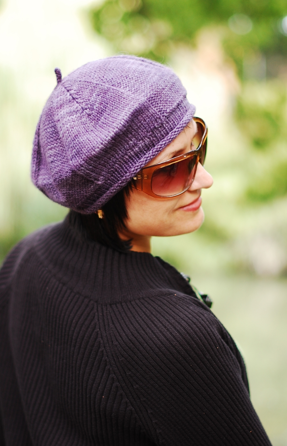 Propello beret knitting pattern