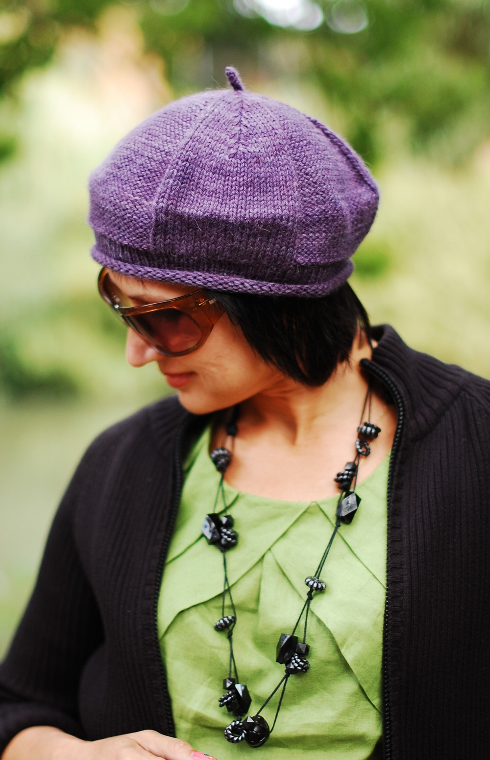 Propello beret knitting pattern