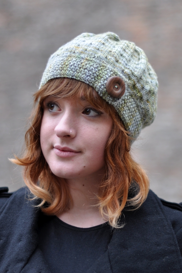 Ruislip vintage inspired cloche Hat knitting pattern