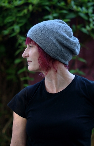Runway Textured Slouchy Hat Knitting Pattern Woolly Wormhead