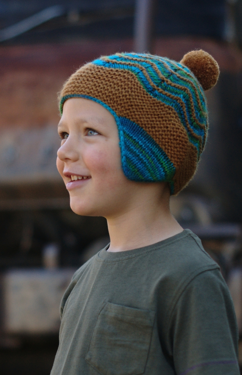 Selkie chullo Hat knitting pattern