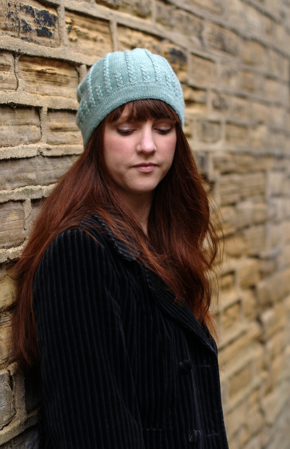 Sophora beret and slouchy Hat knitting pattern