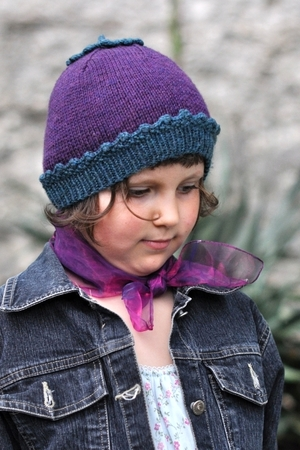 Sproutling Beanie Hat Knitting Pattern For Children In Dk Woolly