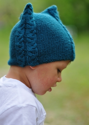 Tricable Cable Hat Knitting Pattern For All Ages In Worsted Woolly