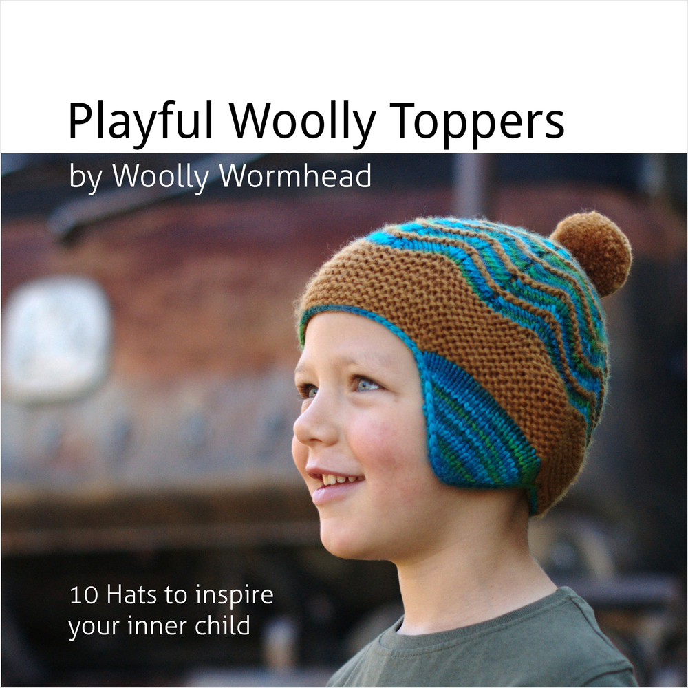 Painted Woolly Toppers - 10 Hats to inspire your inner child