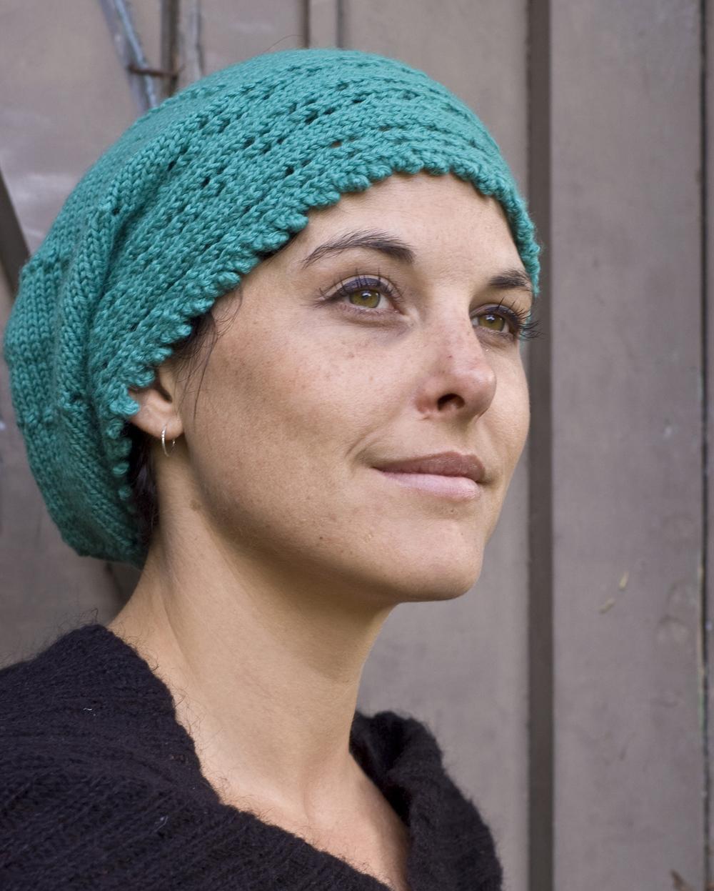 Windward sideways knit slouchy Hat pattern