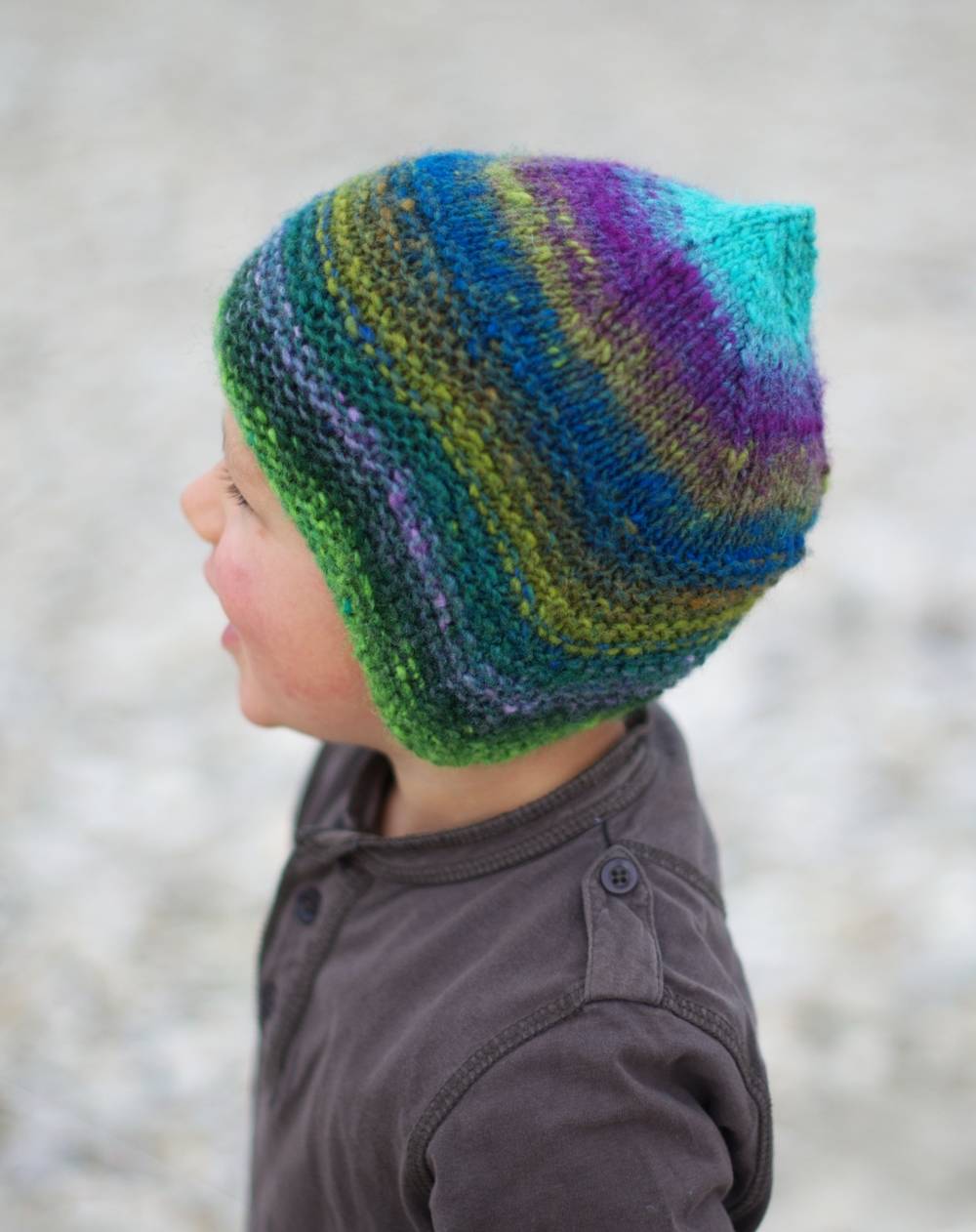 Quynn childs chullo pixie Hat knitting pattern