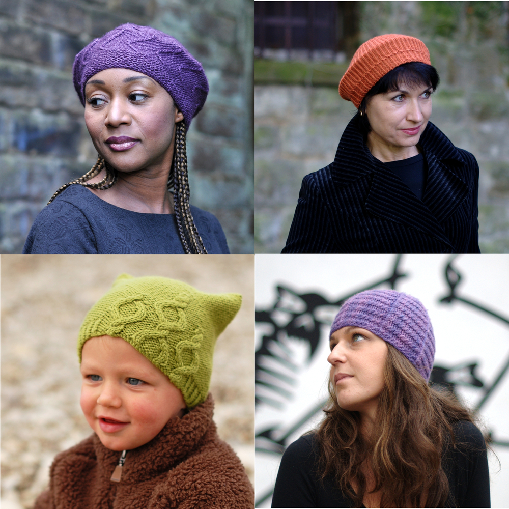errata for Woolly Wormhead single Hat patterns