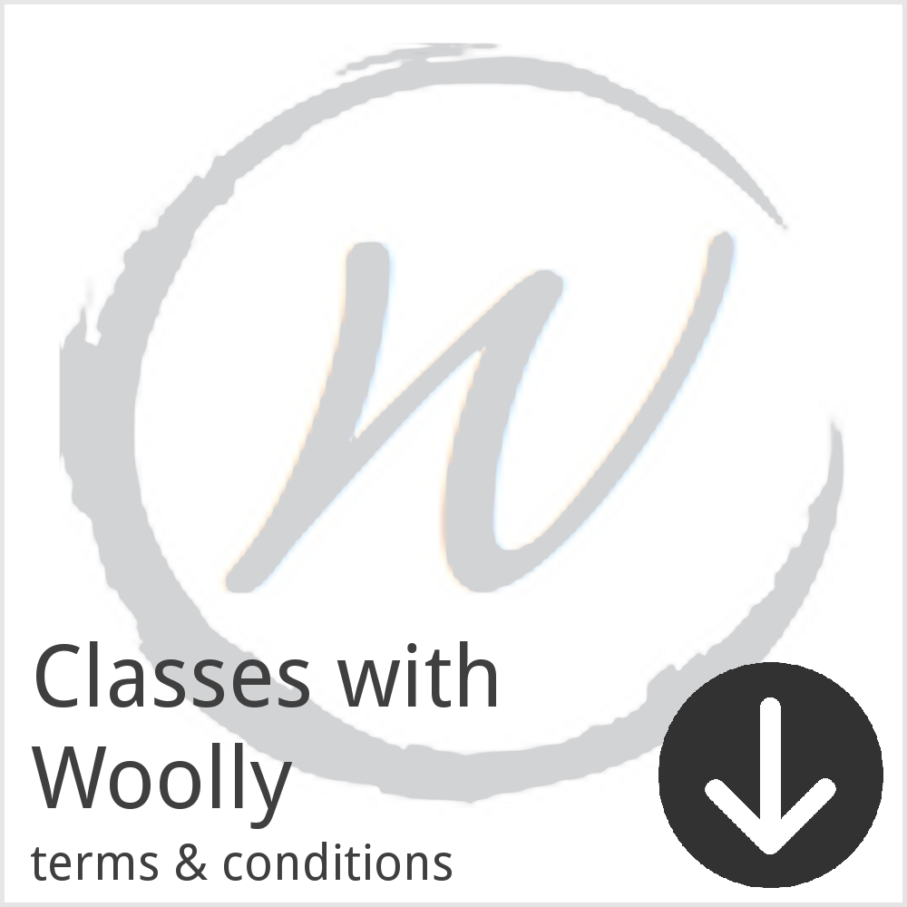 Terms and conditions for booking workshops with Woolly Wormhead