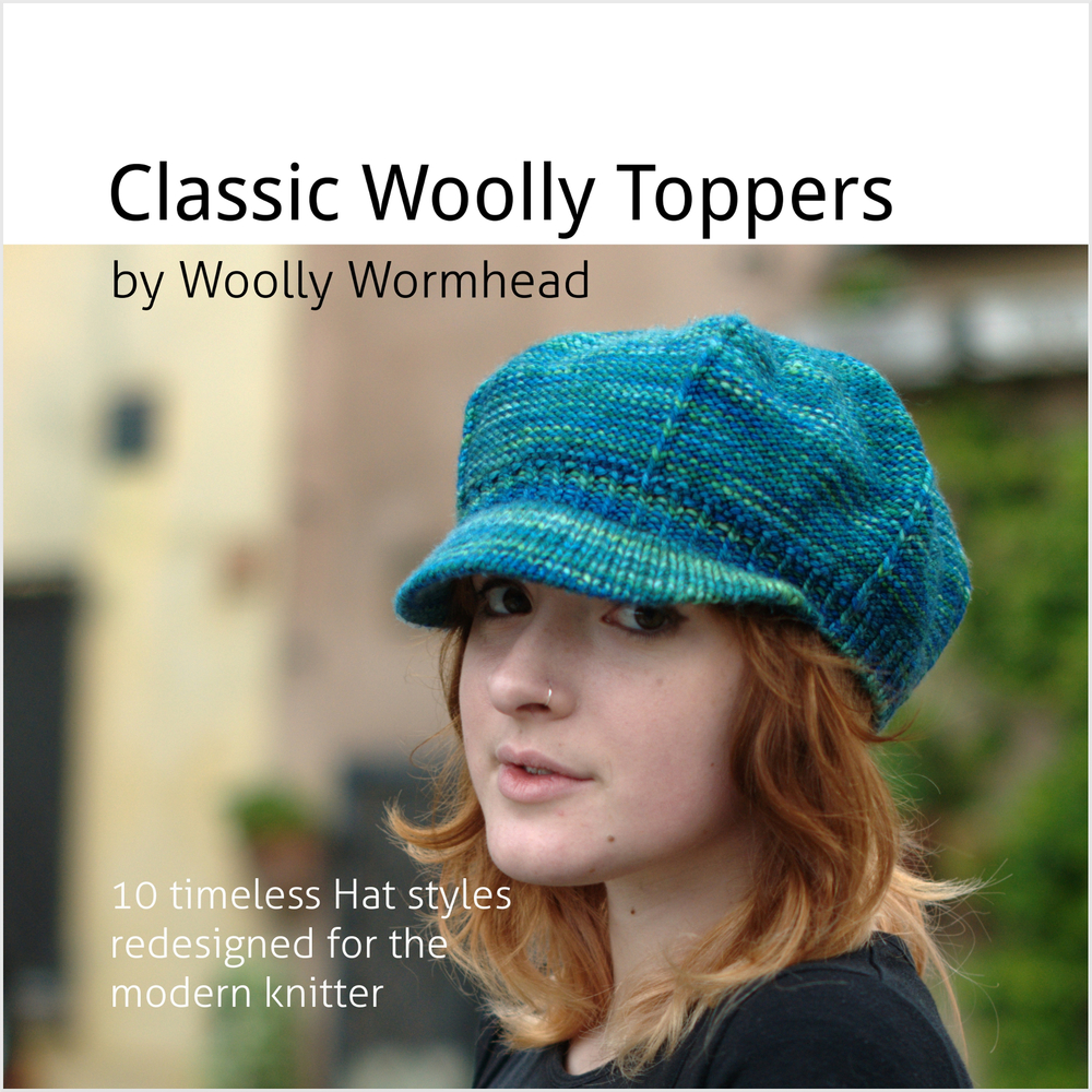 Classic Woolly Toppers eBook - 10 timeless Hats redesigned for the modern knitter