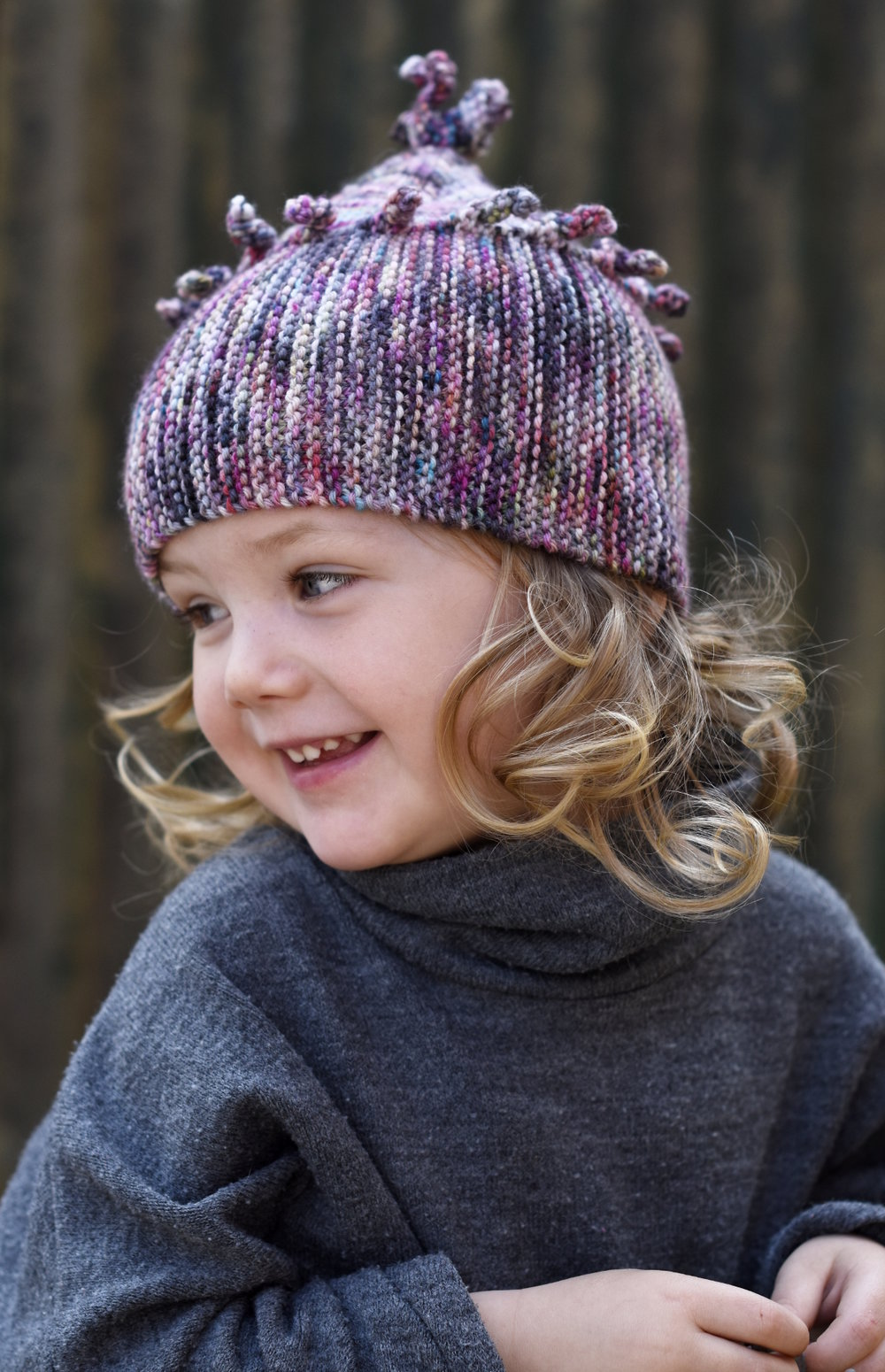 Chesser pixie Hat hand knitting pattern PDF