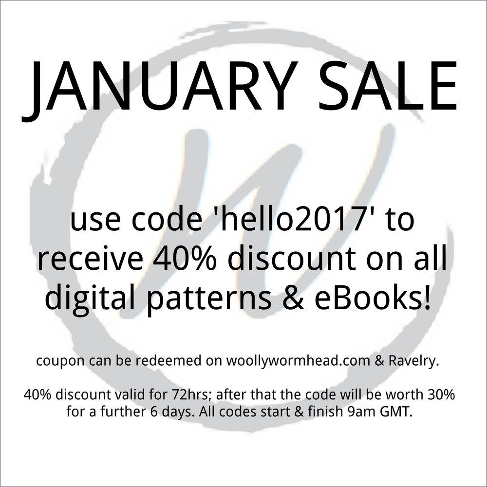 January Sale!