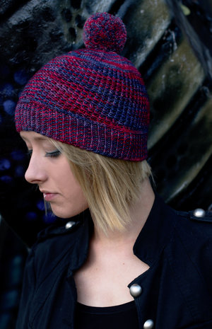 hand knitting patterns for beanies, toques and watch caps — Woolly ...
