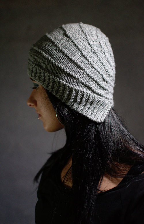 Wrapped hand knitting pattern for cloche style Hat 4f803948d2e