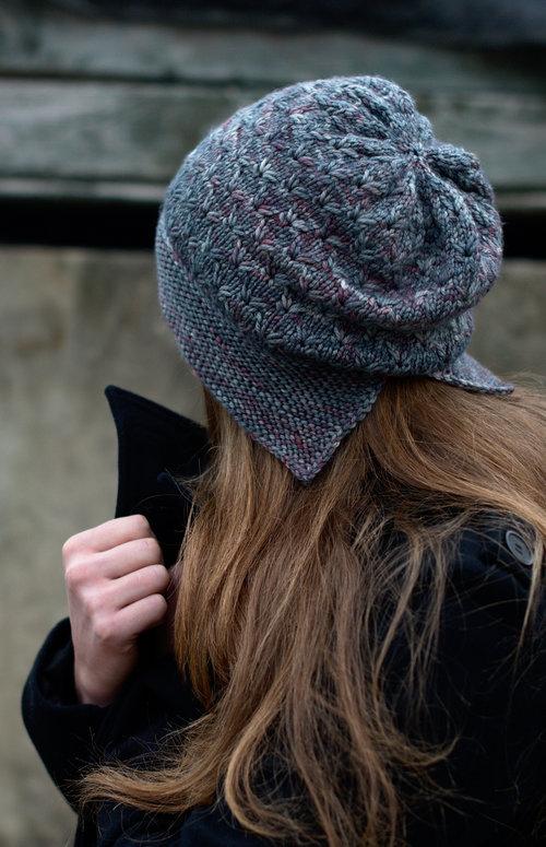 e4d986e23412 Hat knitting patterns designed for hand-dyed