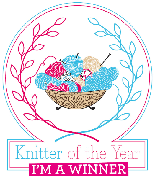 Knit Now magazine - Knitter of the Year, Designer category 2018