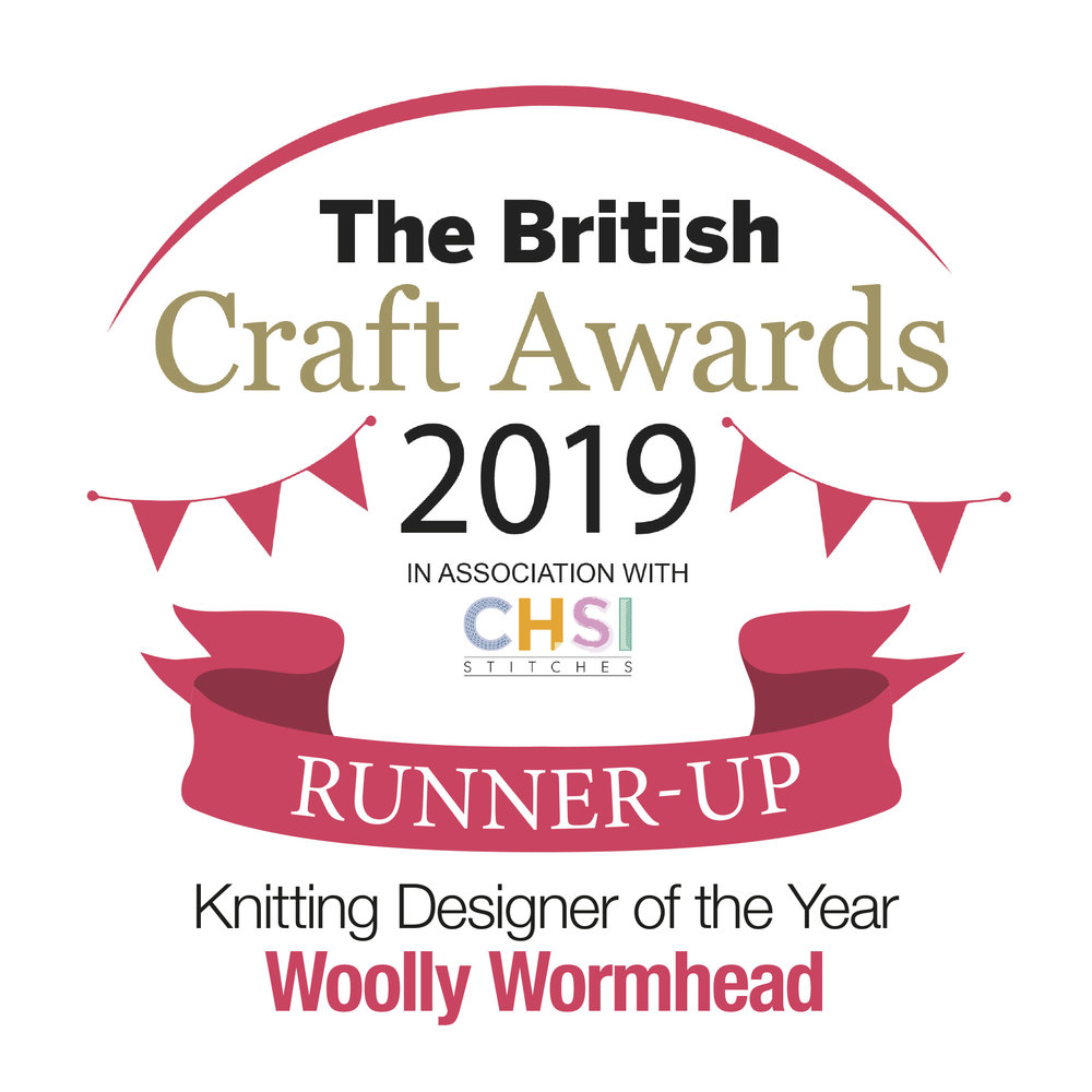British Craft Awards - Knit Designer of the Year 2019, runner up