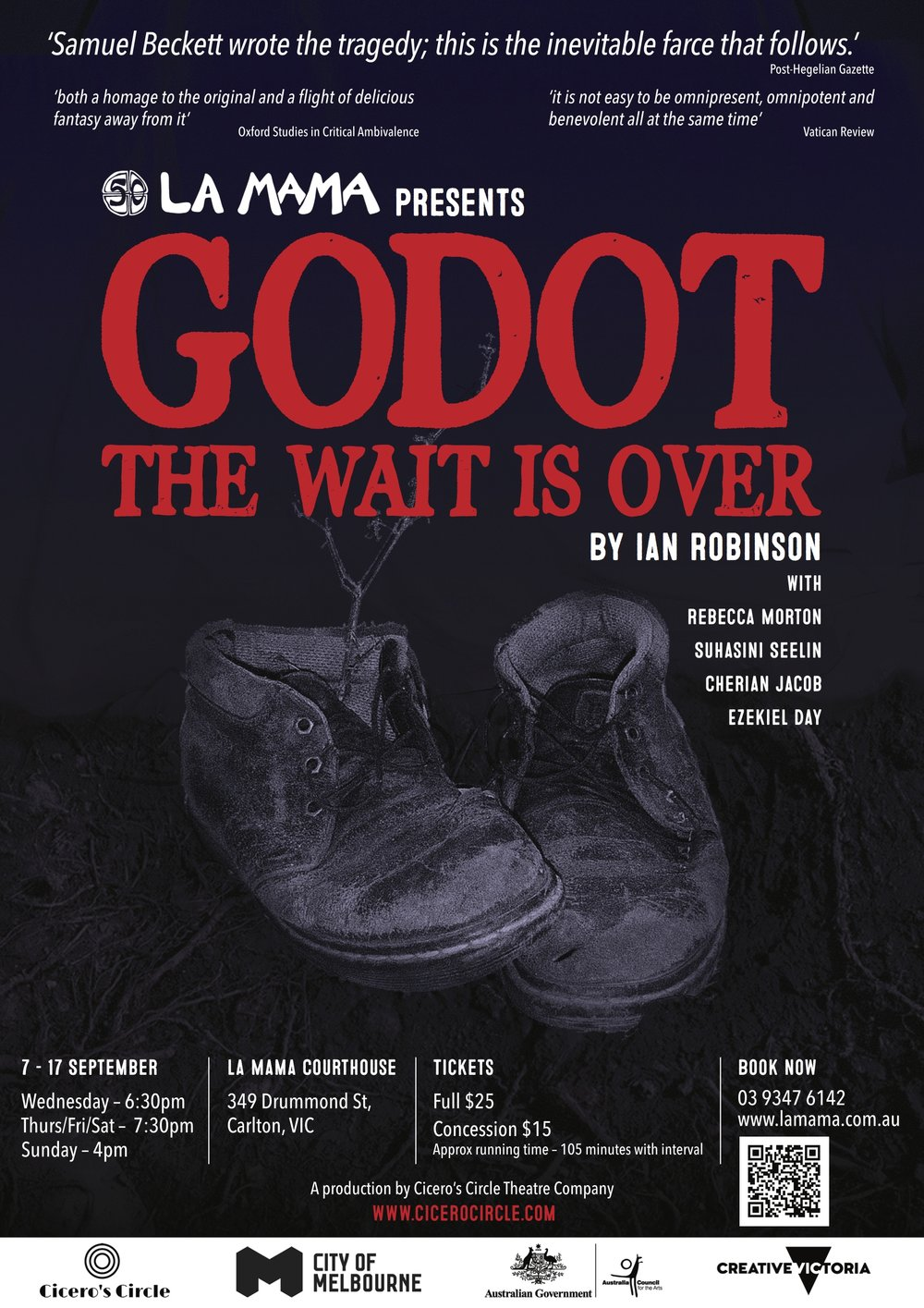 Godot: The wait is over, By Ian Robinson