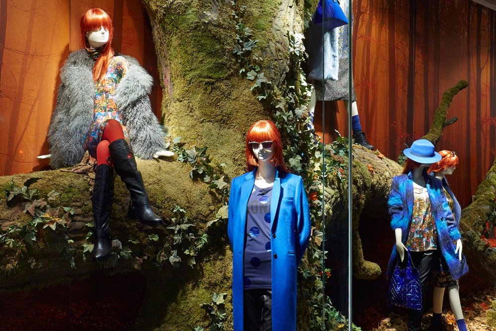 Props & Sculpts, Fenwicks, Autumn Window Displays, Fenwick Bond Street, Retail Design, VM, Visual Merchandising