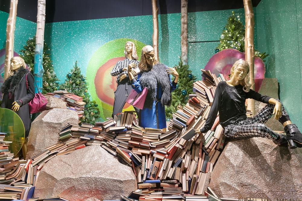 Window Displays, Selfridges, Destination Christmas, Selfridges London, Enchanted Forest, Christmas Windows 2014, Christmas, Beluga Vodka, Sculpts, Props, Visual Merchandising, VM and Retail Design, 20.jpg