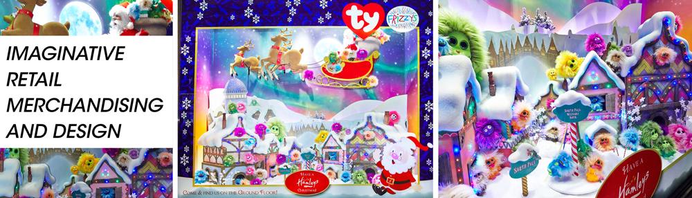 Propability, Creative Design, Hamleys, Christmas Toys, Windows