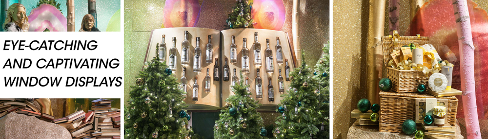 Propability, Window Displays, Selfridges, Enchanted Forest, Christmas