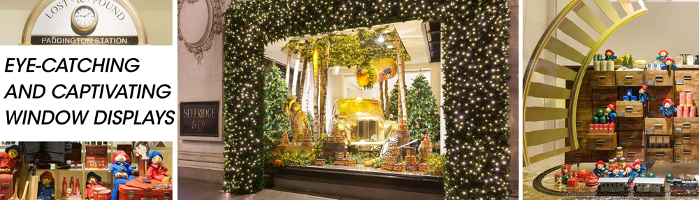 Propability, Window Displays, Selfridges, Paddington, Christmas