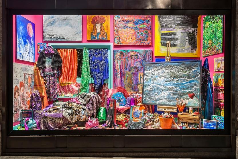 Bright Old Things-Selfridges-Molly Parkin-Visual Merchandising 23